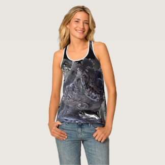 WOMAN STEEL REFLECTION MIRROR SINGLET