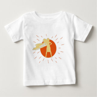 woman-superstar baby T-Shirt