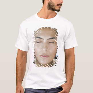 Woman taking a spa treatment T-Shirt
