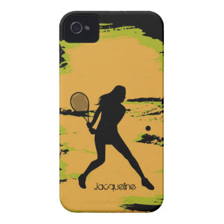 Woman Tennis Player Case-Mate iPhone 4 Cases