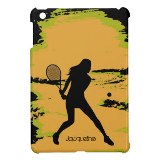Woman Tennis Player Cover For The iPad Mini