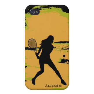 Woman Tennis Player Covers For iPhone 4