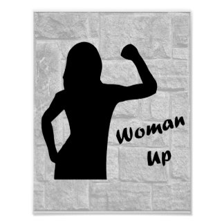 Woman Up - Fitness Posters for Women