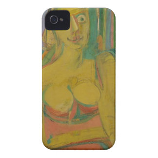 woman William De Koonig iPhone 4 Cases