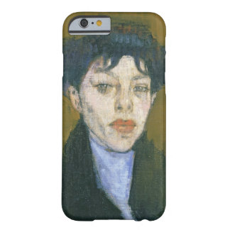 Woman with a Blue Scarf, c.1912 (oil on canvas) Barely There iPhone 6 Case
