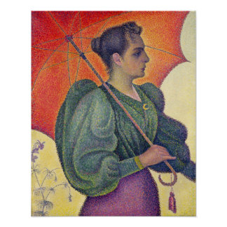Woman with a Parasol, 1893 Poster