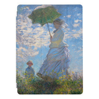 Woman with a Parasol by Claude Monet iPad Pro Cover