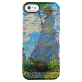 Woman with a Parasol Claude Monet Impressionist Clear iPhone SE/5/5s Case