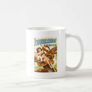 Woman with a Snake Coffee Mug