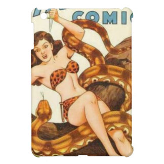 Woman with a Snake Cover For The iPad Mini