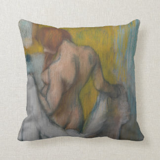 Woman with a Towel Cushion