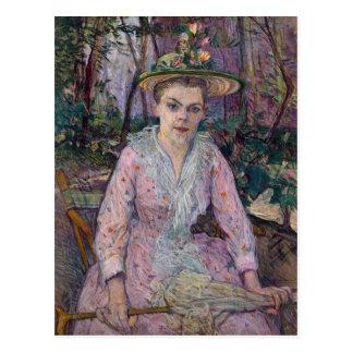 Woman with an Umbrella, 1889 Postcard