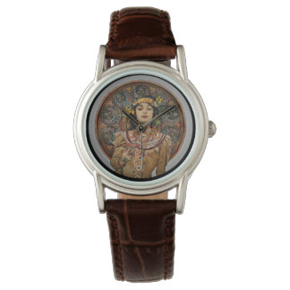 Woman with Champagne Glass Watch