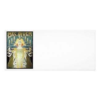 Woman with Lights Bec Auer Rack Card