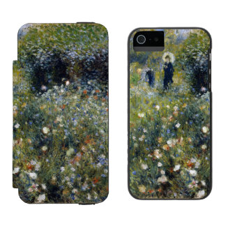 Woman with Parasol in a Garden by Renoir Incipio Watson™ iPhone 5 Wallet Case