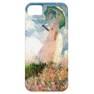 """""""Woman with Parasol Promenade Monet"""" iPhone 5 Cover"""