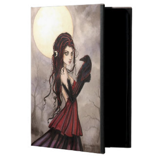 Woman with Raven Fantasy Fairy Mystical Art iPad Air Cases