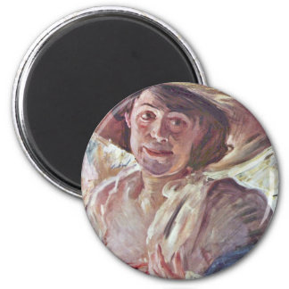 Woman With Rosenhut (Portrait Of Charlotte Berend- Fridge Magnets
