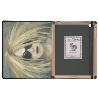 Woman with Sunglasses Big Hair Oil Painting iPad Case