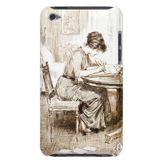 Woman Writing Letters 1911 iPod Case-Mate Cases