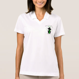 Womans 1 ghost polo shirt