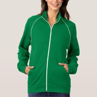 Woman's American Apparel Fleece Track Jacket