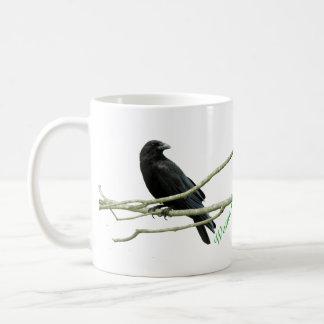 Woman's Best Friend Crow Mug