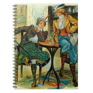 Woman's Club 1899 Notebooks
