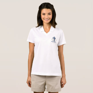 Woman's Dri-Fit Polo: Traditional Logo Polo Shirt