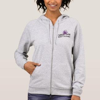 woman's fleece hoodie