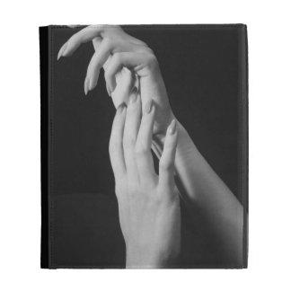 Womans Hands iPad Case