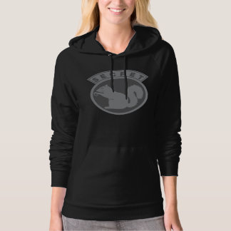 Womans Hoodie Squirrel