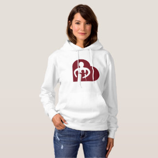 Womans Hoodie (white)
