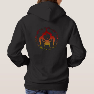 Woman's hoodie with seven deadly sins