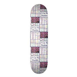 Woman's March Skate Board Decks
