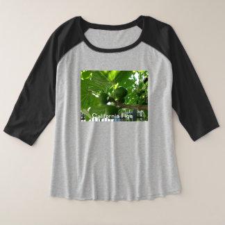 Woman's Plus-Size 3/4 Sleeve Raglan T-Shirt