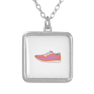 WOMANS RUNNING SHOE NECKLACES