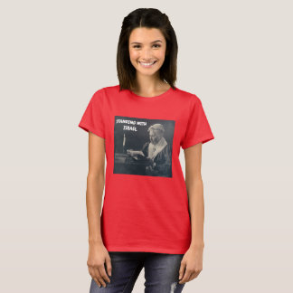 WOMAN'S STANDING WITH ISRAEL T-SHIRT CHRISTIAN
