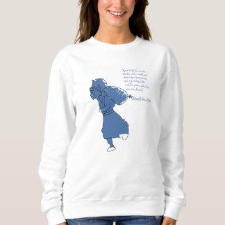 Woman's sweatshirt Hillary quote