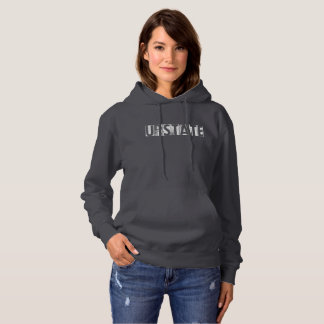 Womans Upstate Clothing Typo Hoodie