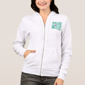 Womans zip up hoody