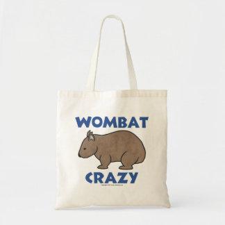 Wombat Crazy II Budget Tote Bag