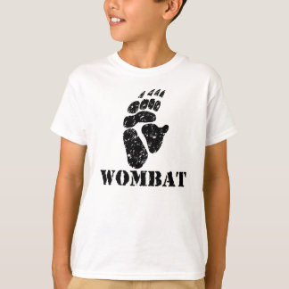 Wombat Footprint T-Shirt