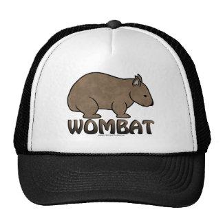 Wombat Logo II Hats