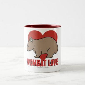Wombat Love Two-Tone Coffee Mug