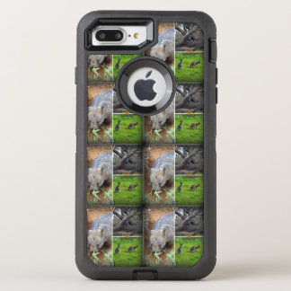 Wombat Sniff iPhone Otterbox 7+ defender Case