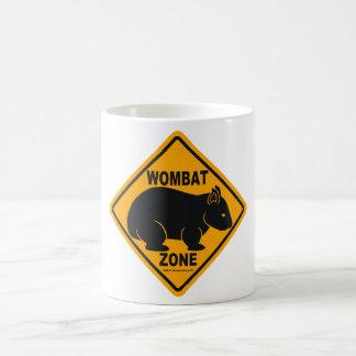 Wombat Zone Sign Coffee Mug
