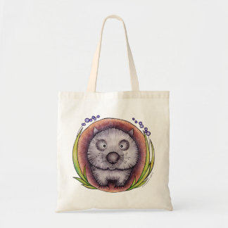 'Wombie' the wombat Bags