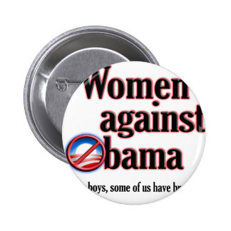 Women Against Obama Buttons