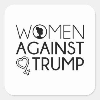 Women Against Trump Square Sticker